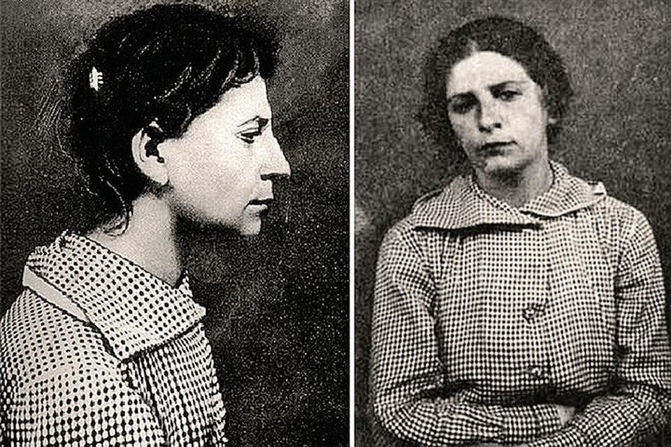 Фанни Каплан на Лубянке. Снимки сделаны в ночь на 31 августа 1918-го. Фото: wikimedia.org
