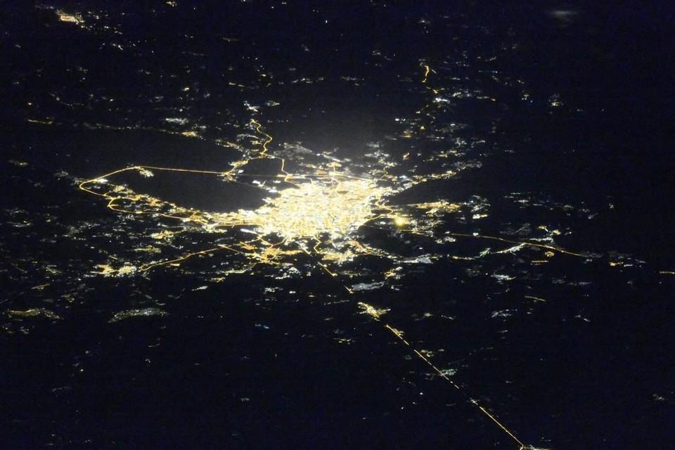 Сделать редкую фотографию удалось космонавту Олегу Кононенко. Фото: Роскосмос