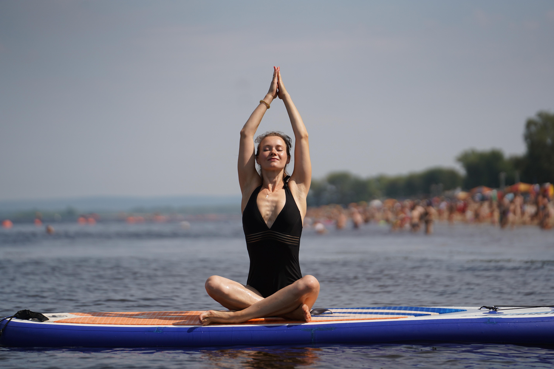 Йога на сапах - отличная возможность привести тело и мысли в порядок