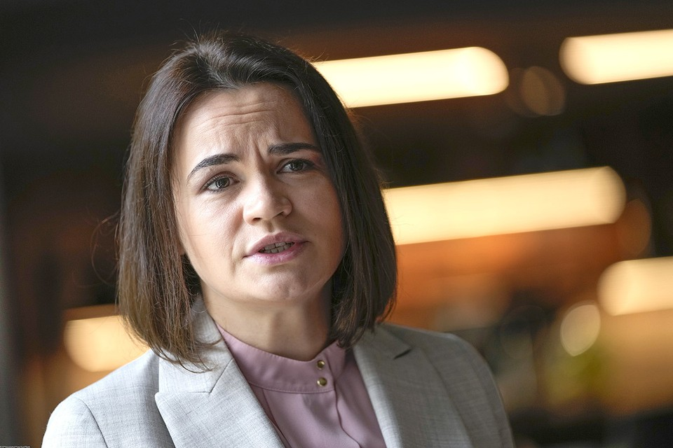 Экс-кандидат в президенты Беларуси Светлана Тихановская.
