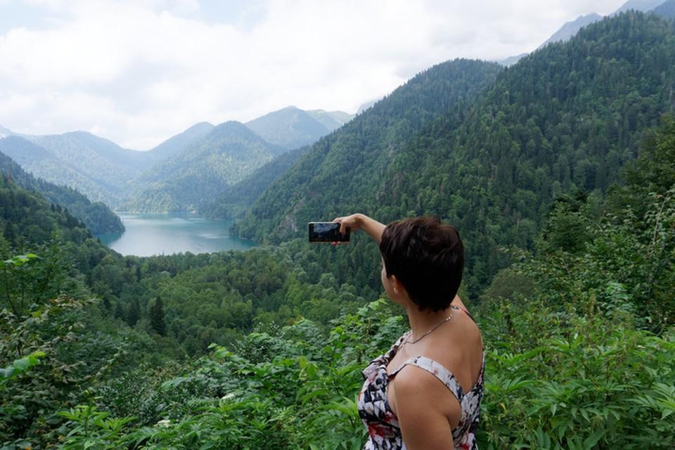 Абхазия остается одним из самых популярных направлений на Черноморском побережье
