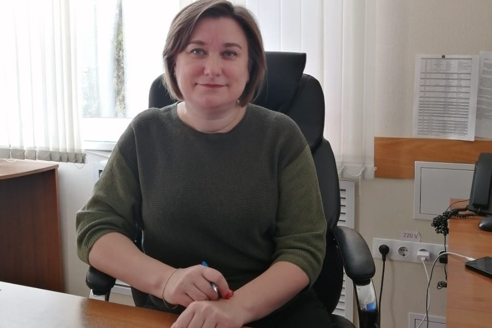 Директор Областной ветлаборатории Анжелика Суханова.