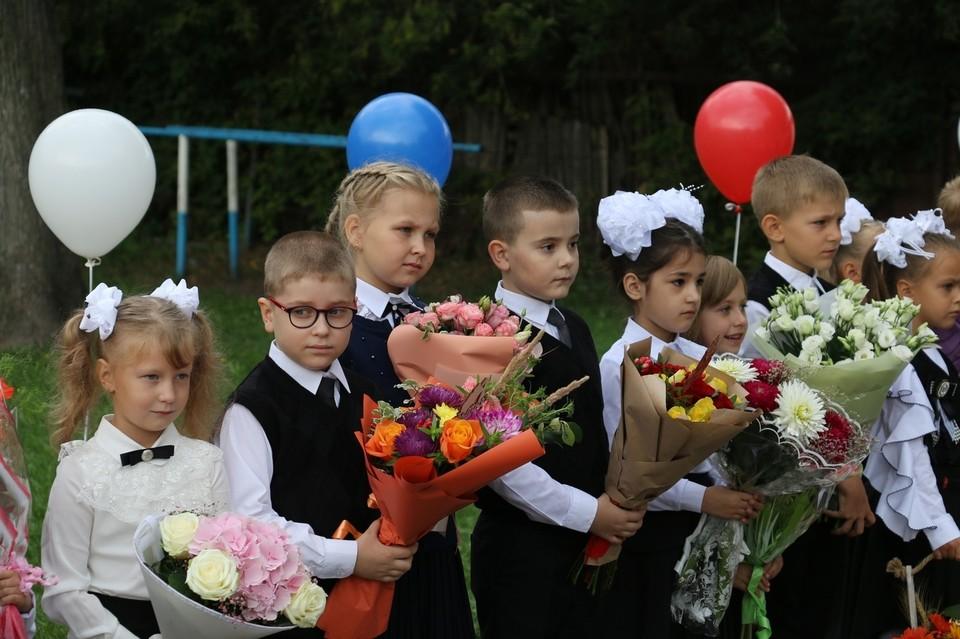 Как проходит 1 сентября в тульских школах