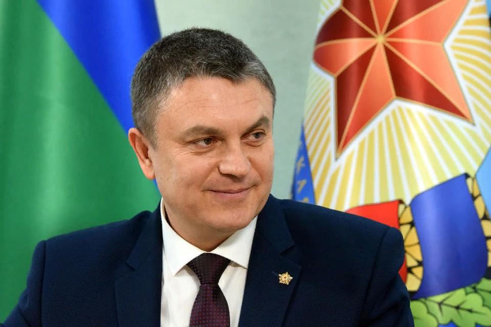 Глава Луганской Народной Республики Леонид Пасечник. Фото: сайт Главы ЛНР