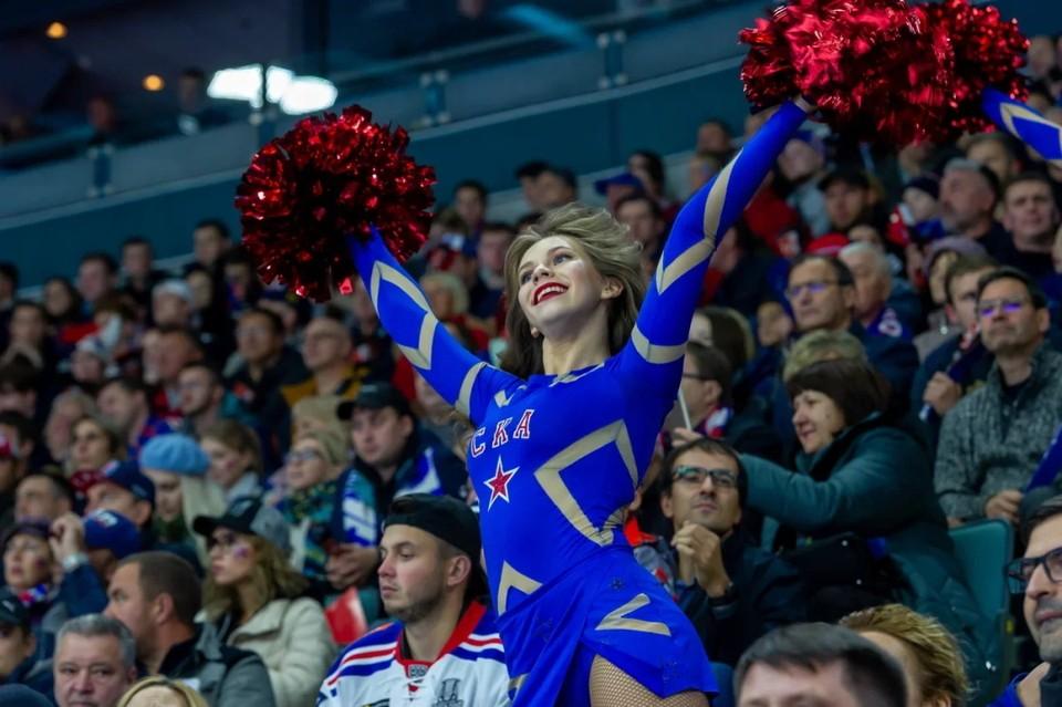 Первые матчи СКА в Петербурге пройдут со зрителями.