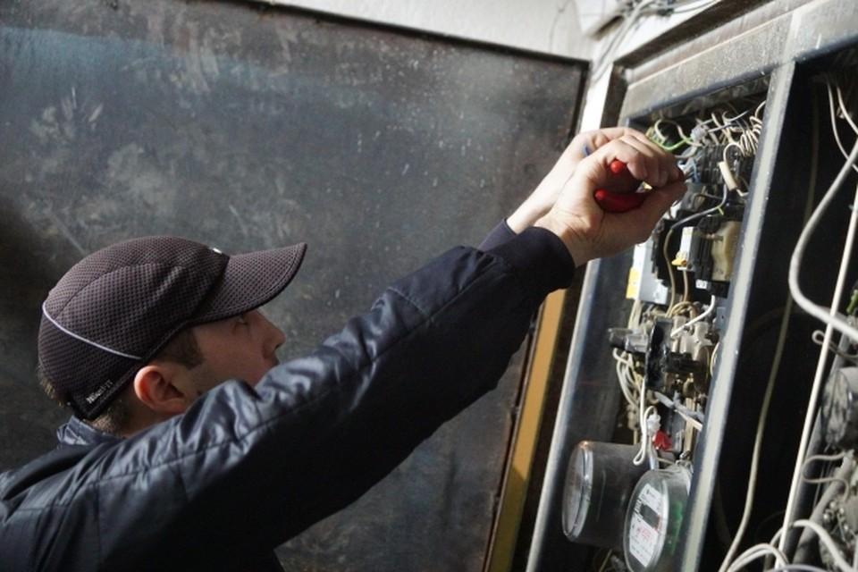 Работы на электросетях продолжатся и осенью.