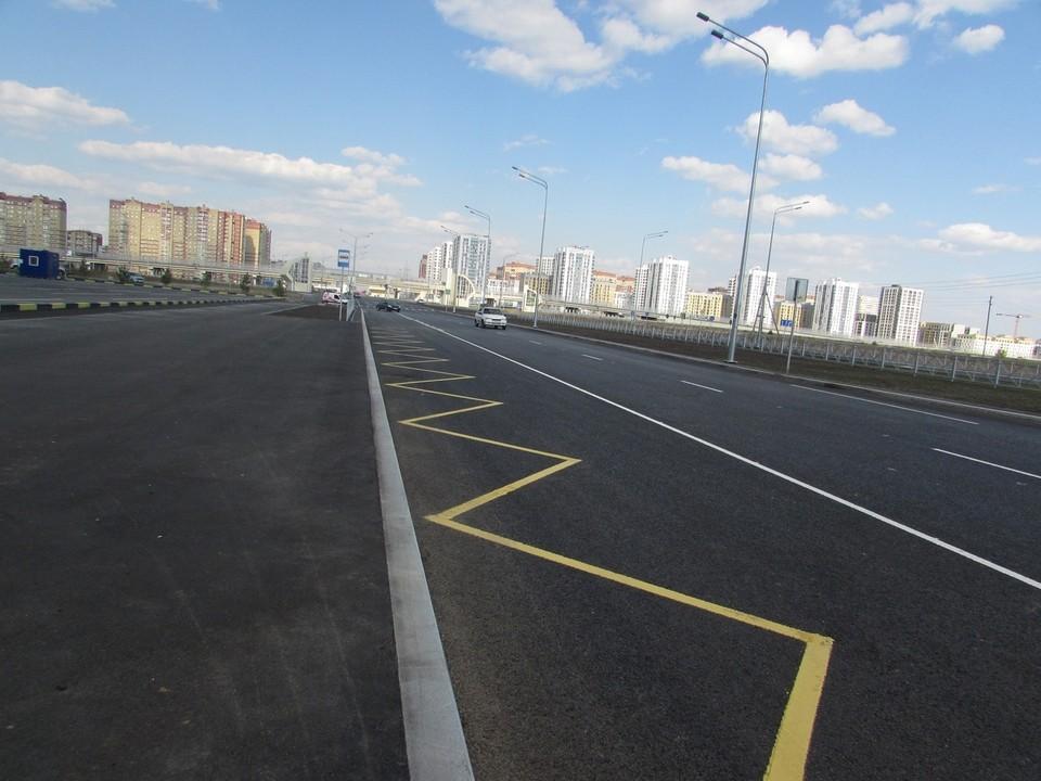 В тюменском Ново-Патрушево открыли новую дорогу.