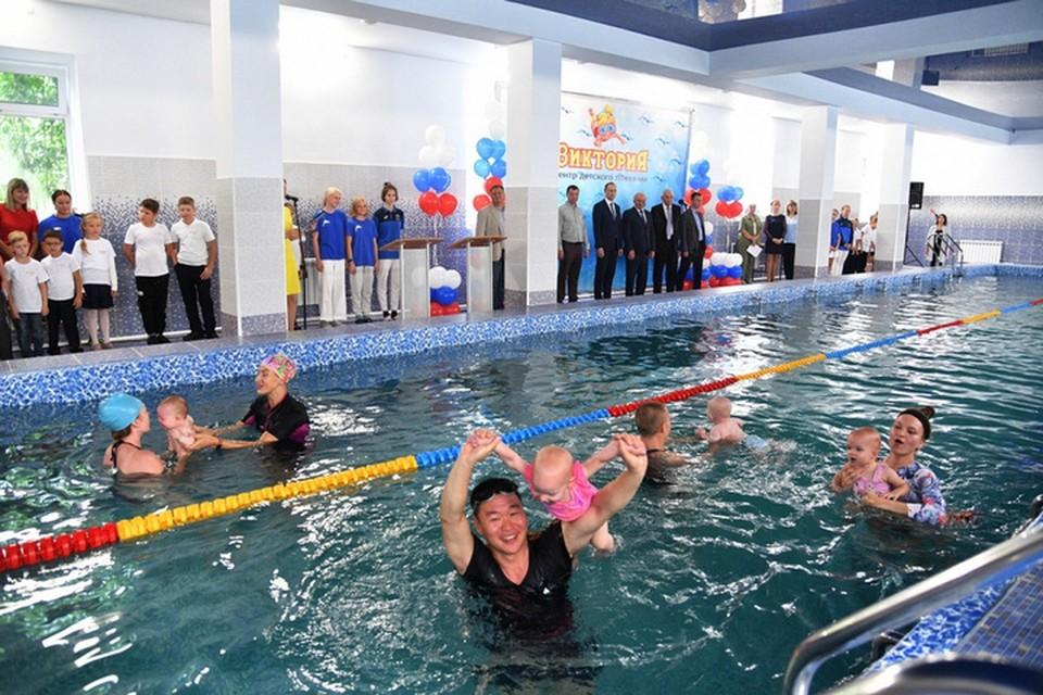 Бассейн в центре Хабаровска восстановили за 17 миллионов