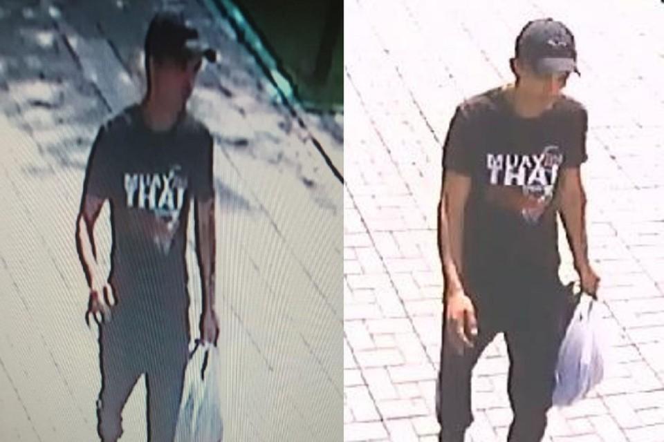 Полицейские ищут сибиряка со шрамом на руке, ограбившего подростка на улице. Фото: ГУ МВД по НСО.