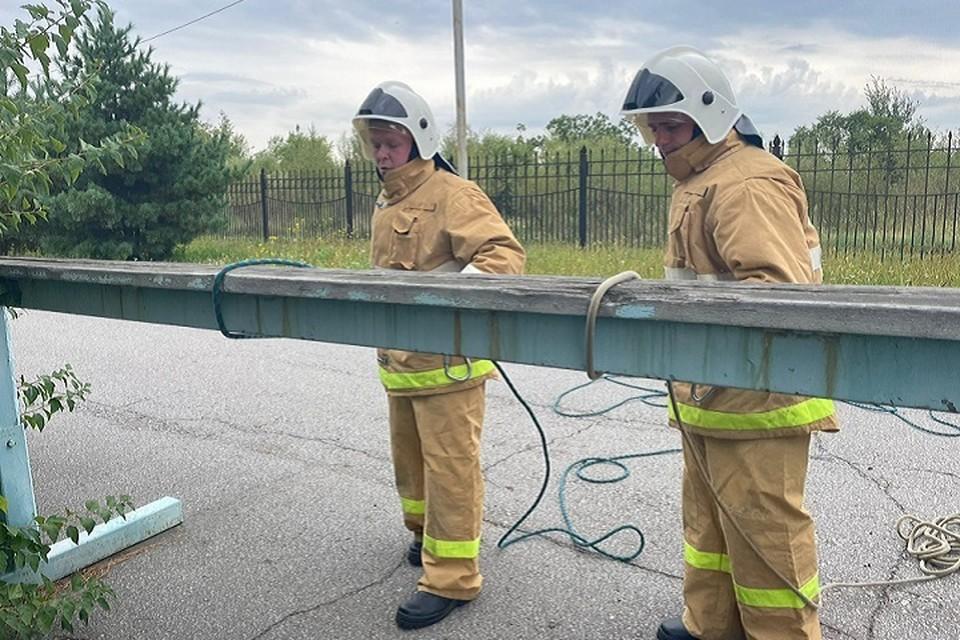 В Хабаровск съехались пожарные со всего края