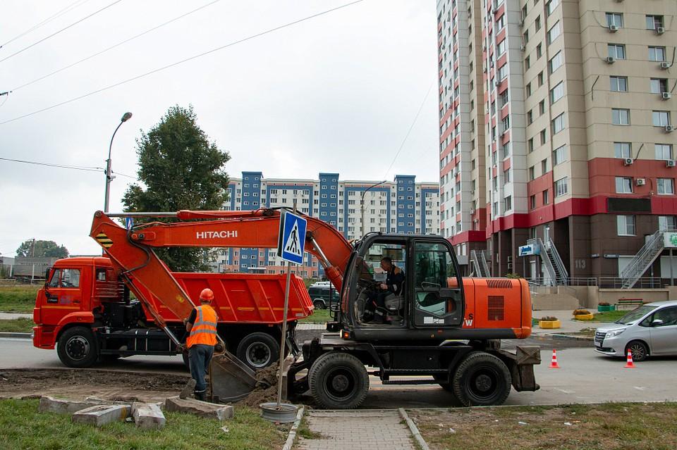Временный объезд на улице Павла Морозова расширят