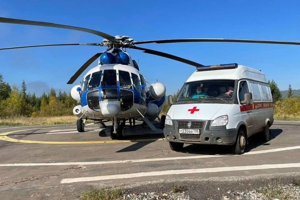 Троих пострадавших в аварии самолета L-410 под селом Казачинское отправят на лечение в Иркутск. Фото: пресс-служба правительства Иркутской области