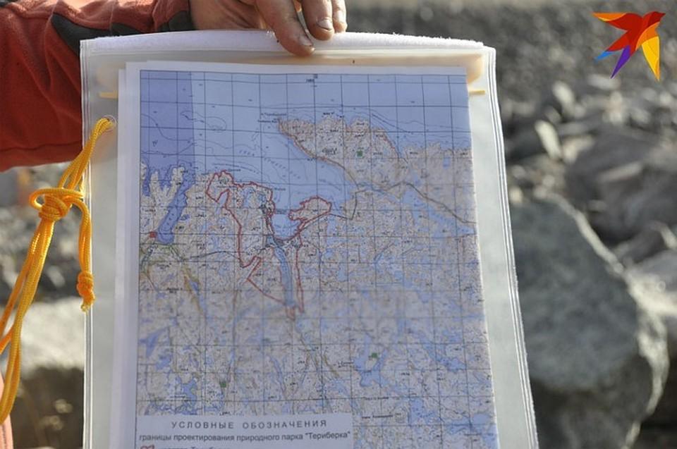Природный парк в Териберке задокументирован.