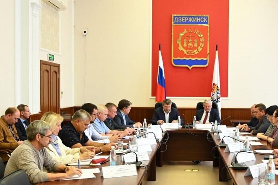 В Дзержинске планируется создание единого Информационного центра по вопросам ЖКХ