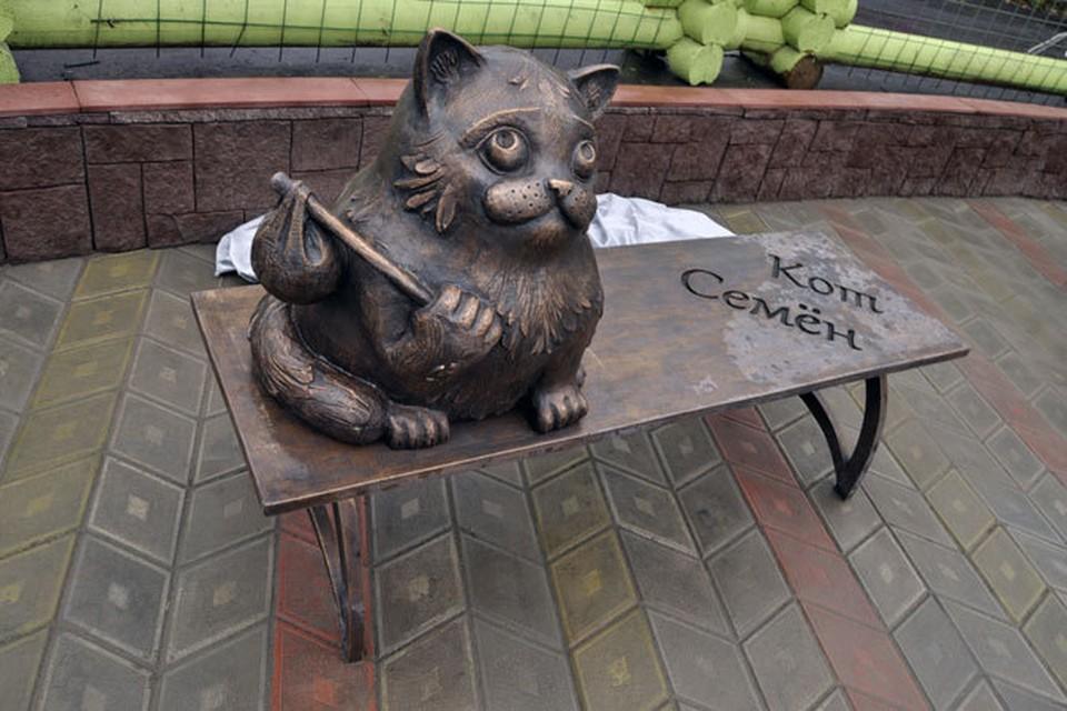 Кот Семен быстро станет одной из достопримечательностей Мурманска